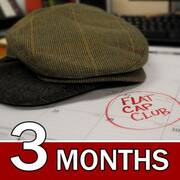 USA 3 Month Flat Cap Club Gift Subscription