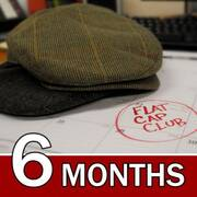 USA 6 Month Flat Cap Club Gift Subscription