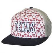 Texas Grub Trucker Snapback Baseball Cap