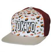 Tokyo Grub Trucker Snapback Baseball Cap