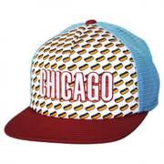 Chicago Grub Trucker Snapback Baseball Cap