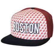 Boston Grub Trucker Snapback Baseball Cap