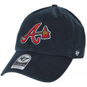 Atlanta Braves MLB Clean Up Strapback Baseball Cap