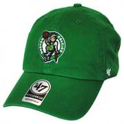 Boston Celtics NBA Clean Up Strapback Baseball Cap