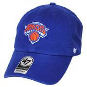 New York Knicks NBA Clean Up Strapback Baseball Cap