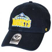 Denver Nuggets NBA Clean Up Strapback Baseball Cap Dad Hat