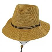 Kids' Chincord Toyo Straw Outback Hat