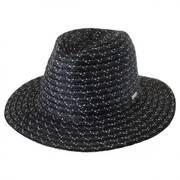 Davis Wheat and Toyo Straw Braid Fedora Hat