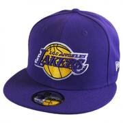 Los Angeles Lakers NBA On Court Snapback Baseball Cap