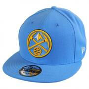 Denver Nuggets NBA On Court Snapback Baseball Cap