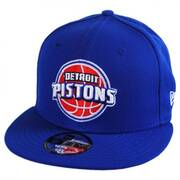 Detroit Pistons NBA On Court Snapback Baseball Cap