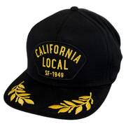 California Local Snapback Baseball Cap