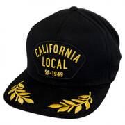 California Local Snapback Baseball Cap