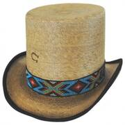 Outlaw Spirit Palm Leaf Straw Top Hat