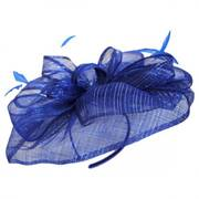 Honore Sinamay Straw Fascinator Headband