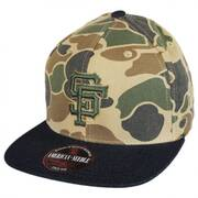 San Francisco Giants MLB Dillon Strapback Baseball Cap Dad Hat