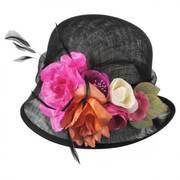 Nina Straw Cloche Hat