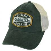 Guinness Old School Mesh Trucker Snapback Baseball Cap