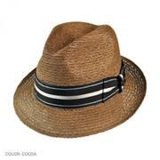 Palazzo Straw Trilby Fedora Hat