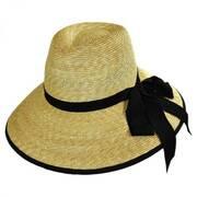 Silene Milan Straw Fedora Hat