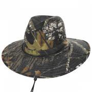 Mossy Oak Camouflage Aussie Fedora Hat