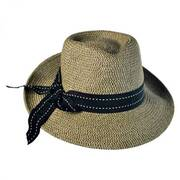 Rich Pitch Toyo Straw Fedora Hat