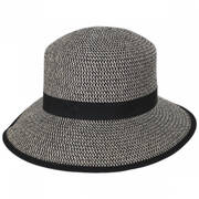 Pitch Perfect Framer Toyo Straw Cloche Hat