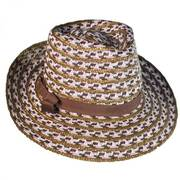 Cypress Toyo and Milan Straw Fedora Hat