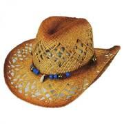 Waimea Raffia Straw Western Hat
