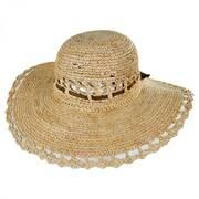 Amy Raffia Straw Sun Hat