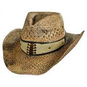 Easy Going Straw Western Hat