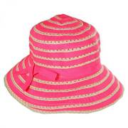 Kids' Ribbon Toyo Straw Bucket Hat