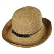 Shell Chain Toyo Straw Kettle Brim Sun Hat
