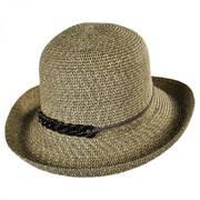 Shell Chain Toyo Straw Kettle Brim Sun Hat