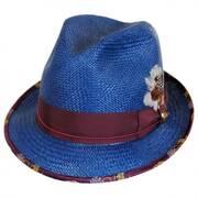 Legacy Panama Straw Fedora Hat