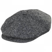 Galvin Wool Tweed Newsboy Cap