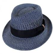 Wilshire Toyo Braid Straw Fedora Hat