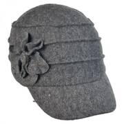 Ridge Flower Wool Newsy Cap