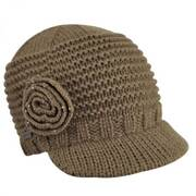 Flower Knit Cap