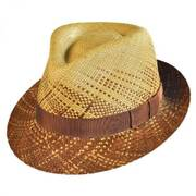 Winnick Panama Straw Fedora Hat