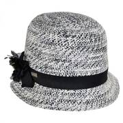 Inge Toyo Straw Cloche Hat