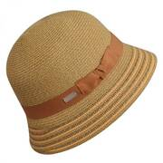 Tricia Straw Cloche Hat