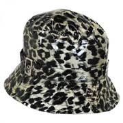 Leopard Rain Bucket Hat