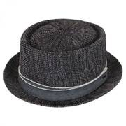 Runkle Toyo Straw Blend Pork Pie Hat