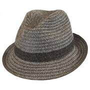 Truro Toyo Straw Blend Trilby Fedora Hat