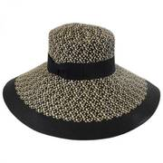 Audrey Toyo Straw Blend Downbrim Hat