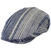 Edring Striped Linen and Cotton Ivy Cap
