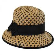 Bridgitte Toyo Straw Bucket Hat