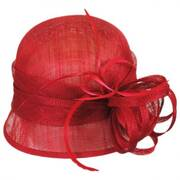 Rosa Straw Cloche Hat