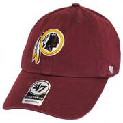 Washington Redskins NFL Clean Up Strapback Baseball Cap